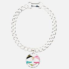 Kissing Snowmen Bracelet