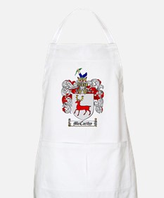 McCarthy Family Crest - coat of arms Apron