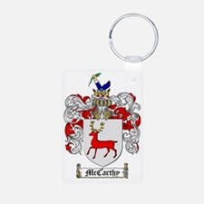 McCarthy Family Crest - co Keychains