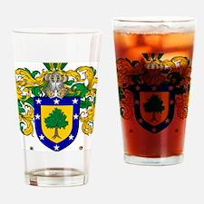 Martinez Family Crest - coat of arm Drinking Glass