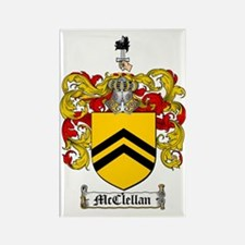 McClellan Family Crest - coat of  Rectangle Magnet