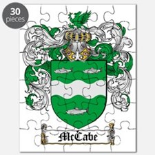McCabe Family Crest - coat of arms Puzzle