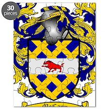 McCann Family Crest - coat of arms Puzzle