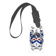 McClure Family Crest - coat of a Luggage Tag