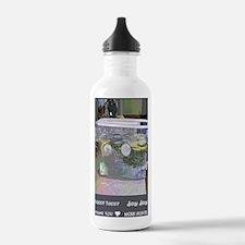 hhjj journal water Water Bottle