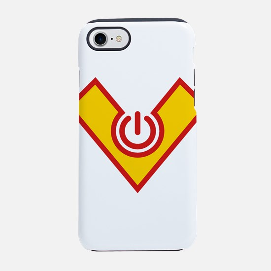 Hero Power, Comic Style, Carto iPhone 7 Tough Case