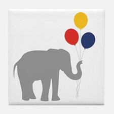 Party Elephant Tile Coaster