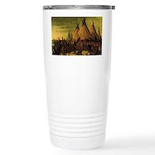 Sioux War Council by Ge Travel Mug