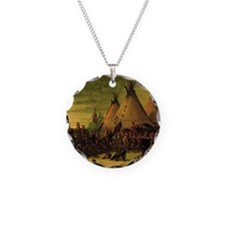Sioux War Council by George  Necklace