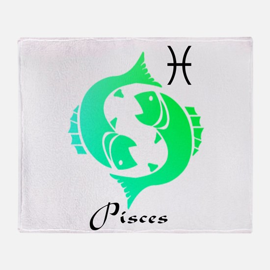 Pisces Throw Blanket