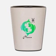 Pisces Shot Glass