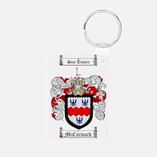 McCormack Family Crest - c Aluminum Photo Keychain