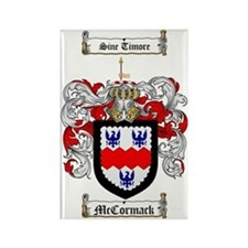 McCormack Family Crest - coat of  Rectangle Magnet