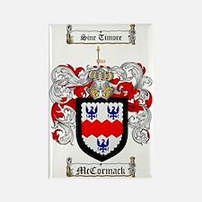 McCormack Family Crest - coat of  Rectangle Magnet