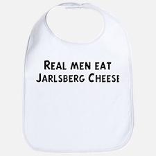 Men eat Jarlsberg Cheese Bib