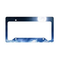 Night Sky License Plate Holder