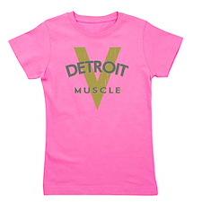 Detroit Muscle copy Girl's Tee