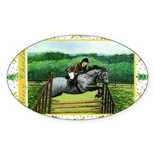 Connemara Pony Christmas Decal