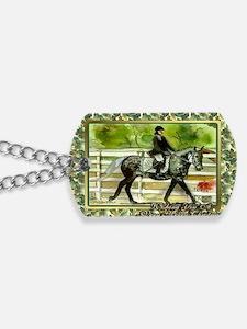 Swedish Warmblood Horse Christmas Dog Tags