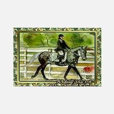 Swedish Warmblood Horse Christmas Rectangle Magnet