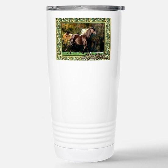 Paso Fino Horse Christm Stainless Steel Travel Mug