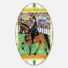 Tennessee Walking Horse Christmas Decal