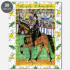 Tennessee Walking Horse Christmas Puzzle