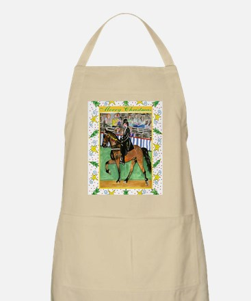 Tennessee Walking Horse Christmas Apron