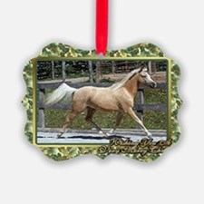 Paso Fino Horse Christmas Ornament
