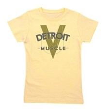 Detroit Muscle copy Girl's Tee