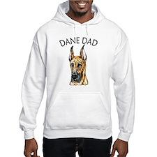 Brindle Dane Dad Hoodie