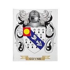 Coyne Coat of Arms Throw Blanket