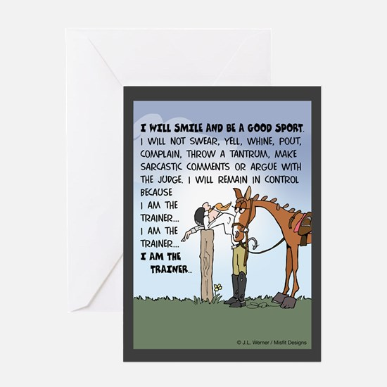 I Am The Trainer Single Greeting Card