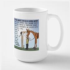 I Am The Trainer Large Mug