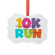 10K Run Multicolors Ornament
