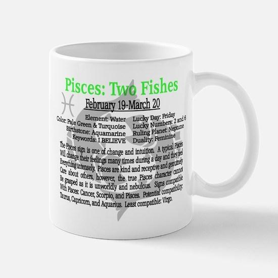 Pisces Traits Mugs
