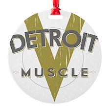 Detroit Muscle copy Ornament