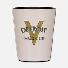Detroit Muscle copy Shot Glass