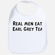 Men eat Earl Grey Tea Bib
