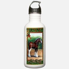 Clydesdale Draft Horse Water Bottle