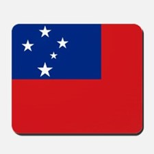 Samoan flag Mousepad