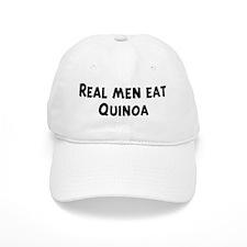 Men eat Quinoa Baseball Cap