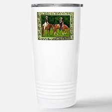 Quarter Horse Western P Stainless Steel Travel Mug