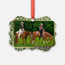 Quarter Horse Western Pleasure Ch Ornament