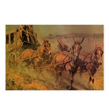 Stage Coach by John Borei Postcards (Package of 8)