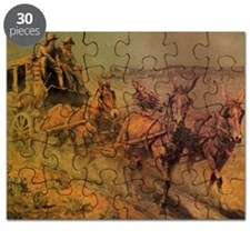 Stage Coach by John Borein Puzzle
