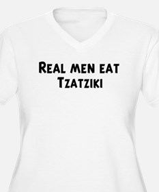 Men eat Tzatziki T-Shirt