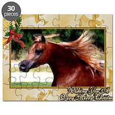 Arabian Horse Christmas Puzzle