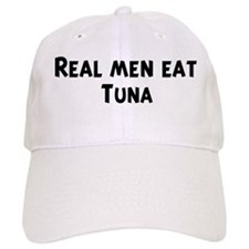 Men eat Tuna Baseball Cap