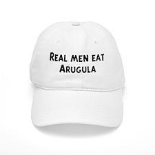 Men eat Arugula Baseball Cap